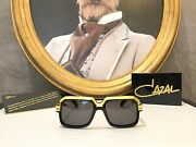 Cazal Sunglasses 660/3 Gold 24kt Limited Edition N. 142/499 - Rare And Sold Out