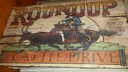 15x26 Western Wooden Rodeo Sign New Local Pickup In Chicago, Northwest Indiana