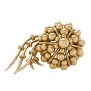 And Co. Schlumberger Jellyfish 18k Yellow Gold Rare Highly Collectible