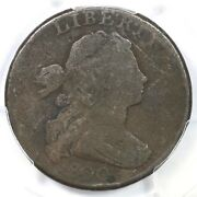 1800 S-210 R-5+ Pcgs Vg Details Draped Bust Large Cent Coin 1c