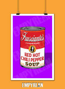 Red Hot Chili Peppers John Frusciante Warhol Soup Can Poster Original Art Print
