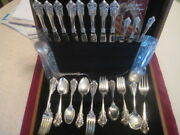Wallace Sterling Grande Baroque Pattern, Service For 8   49 Pcs