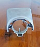 1955 Cadillac Steering Column Upper Surround Cover With Brackets And Screws