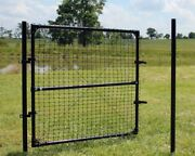 4.5and039 High Dog Fence Access Gate For Animal Fencing - Various Widths