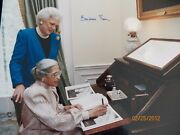First Lady Barbara Bush And Rosa Parks Autographed Photo