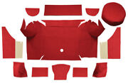 1967-1968 Ford Mustang Trunk Mat -loop |convertible Trunk Kit With Boards