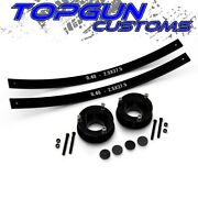 For 94-02 Dodge Ram 2500 2.5 Front + 2 Rear Add-a-leaf Leveling Lift Kit 4wd