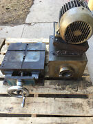 Used Master Machine Pmh5-dd5500 Machining Head W/ Feed Table And Nmtb 50 Spindle