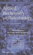 Biotechnology For Fuels And Chemicals The Twenty-ninth Symposium By Adney New