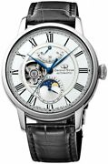 Orient Star Mechanical Semi Skeleton Moon Phase Re-am0001s Re-am0002l