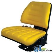 Seat Tractor Yellow Universal Use Part T222yl