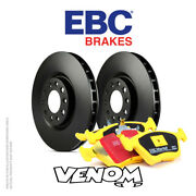 Ebc Front Brake Kit Discs And Pads For Mercedes C Class Estate S204 C250 Td 08-14