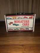 Miniature Cars Carrying Case 1966 38 Vintage Matchbox Cars Included