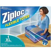 Ziploc Flexible Totes Xl Zippered Storage Bag - 1 Ct - Pack Of 6