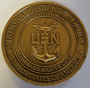 Nsa National Security Agency Usn Present Command Master Chief Css Inscom Sigint