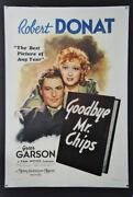 Goodbye Mr. Chips Original Movie Poster 1939 - Best Actor Hollywood Posters
