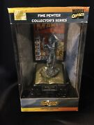 Marvel Limited Edition Fine Pewter Collector''s Series -human Torch With Coa