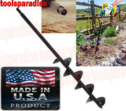 Drill Power Long Planting Bulb Auger Drill Bit Hole Digger All Types Of Soil