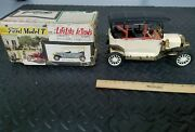 Kraftoy Made In Japan Vtg Ford Model T Battery Operate Tin Toy W/box Tin Toy Lot
