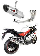 S 1000 Rr Exhaust Hp1 Carbon Dominator Racing Silencer Manifold 2017 2018