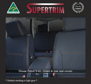 Premium Neoprene Front Fb Mp And Rear Seat Covers Fit Nissan Patrol 1997-now