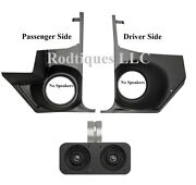 1964-65 Chevelle And El Camino Dash Speakers + Kick Panels Without Speakers Ac Car