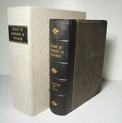 History Of Walworth County, Wisconsin 1882 1st Ed Genealogy Biography Elkhorn
