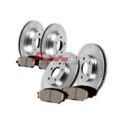 Front+rear Brake Rotors +ceramic Pads For 2010 2011 2012 - 2015 Chevy Camaro