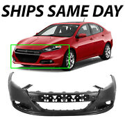 New Primered Front Bumper Cover Fascia Direct Fit For 2013-2016 Dodge Dart 13-16