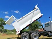 New 16and039 Dump Bed Construction Style 1/4 Gauge Pneumatic Tailgate Truck Bed Body