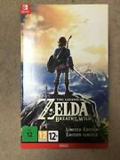 The Legend Of Zelda Breath Of The Wild Limited Edition Nintendo Switch Us Sold