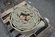 Angus 6 X 50and039 150psi Collapsible Hose Assy Fuels/water Hydrasearch Fit. 150psi
