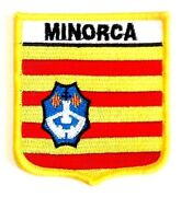 Minorca Embroidered Patch