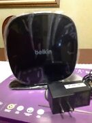 Belkin N600 Db Wi-fi Dual-band N+ 300 Mbps Wireless Router 2.4 And 5 Ghz Bands New