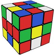 Original Rubiks Cube 3x3x3 Turns Quicker Professional Speed Puzzle Toy Gift