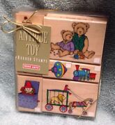 Antique Toys--rubber Stamp Set. Hero Arts. New