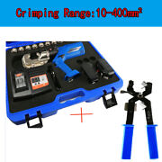10-400mmandsup2 Rechargeable Electric Hydraulic Plier Battery Powered Crimping Tool