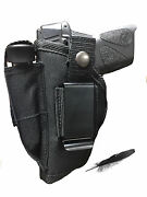 Concealed Springfield Xdm Compact 9mm 40,45 Gun Holster. For Hip Or Iwb