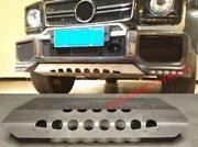 For Mercedes Benz W463 G Class G63 Guard Skid Plate For Front Bumper 4x4