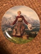 The Sound Of Music Collectors Plate 1 Edwin M Knowles 1986 Limited Edition