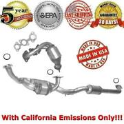 Catalytic Convertres For Toyota Sienna 1999-2000 With California Emissions