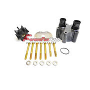 Sea Water Pump Repair Kit For Mercruiser 46-807151a14 Waterpump Impeller Hsg