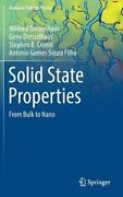 Solid State Properties From Bulk To Nano By Mildred Dresselhaus New