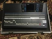 Yamaha Ls9-32/ 32-input 64-channels Mixing Console With Road Case