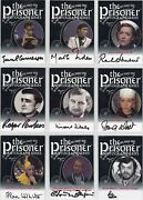 The Prisoner Volume 1 And 2 Auto Autograph Card Selection