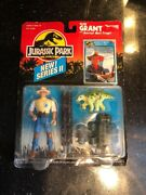 Jurassic Park Alan Grant Aerial Net Trap Series 2 Action Figure New Wear On Card