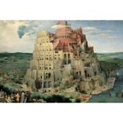 300 Piece Mini Glow-in-the-dark Puzzle The Tower Of Babel Puzzle Hobby Jigsaw
