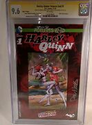 Harley Quinn Futures End 1 Cgc 9.6 Signed Nycc Hate It First Issue Variant Book