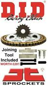 Ktm 200 Exc 98-11 Did And Jt Chain And Sprocket Kit + Tool