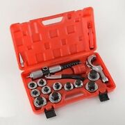 11 Piece Hydraulic Tube Tubing Expander Expanding Swag Swaging Tool Swedging Kit